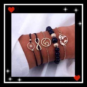 Jewelry - Beautiful 5pc bohemian bracelet